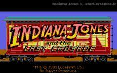 Indiana Jones and the Last Crusade: The Graphic Adventure - Lucasfilm Games - Atari ST - 1989