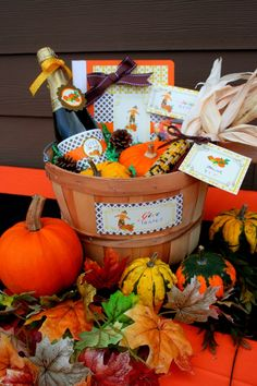 Party Printables | Party Ideas | Party Planning | Party Crafts | Party Recipes | BLOG Bird's Party: Thanksgiving Ideas: Gratitude Gift Basket