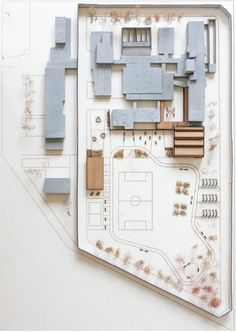 model architecture — PA / papaioannou architects The House Of Hungarian. Social Housing Architecture, Architecture Model Making, French Architecture, Education Architecture, Architecture Student, Architecture Drawings, Landscape Architecture, Interior Architecture, 3d Modelle