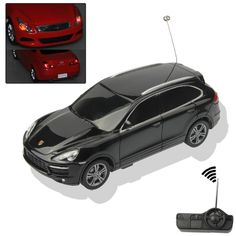 Porsche Car Model Toy 27MHz Infrared Remote Controlled R/C Car Racer 1:32 Scale(Black)