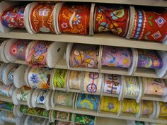 Ethnic Embroidered Ribbons