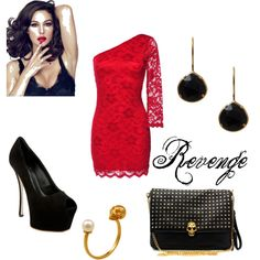 Revenge, created by essmonay on Polyvore
