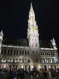 Brussels, Belgium town square