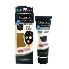 Easy To Use Women Skin Care Suction Black Mask Nose Blackhead Remover Peeling Peel Off Black Head Acne Treatments Facial Mask #Affiliate