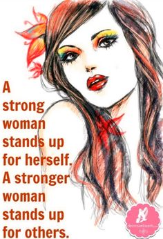 Strong woman quote via www.DennissElisseth.com