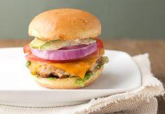 Hamburger Recipes : Apple Maple Bacon Turkey Burgers