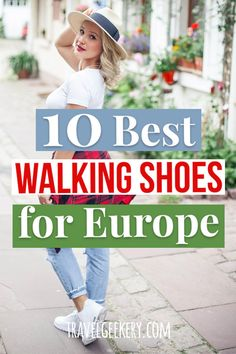 Best Walking Shoes for Europe: 10 Different Styles Top Travel Destinations, Europe Travel Guide, Packing Tips For Travel, Europe Travel Outfits, Travel Essentials, Travel Ideas, Travel Outfit Summer, Summer Travel, Summer Vacations