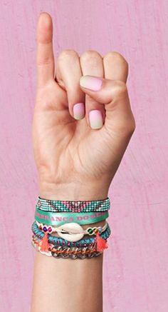 Perfect summer bracelet