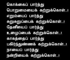 True Quotes in Tamil  Patience Quotes, Sharing Quotes, Gratitude Quotes,Work Quotes