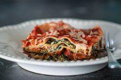 Crock Pot Spinach Lasagna