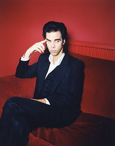 Nick Cave (by  Polly Borland...I adore her, too)