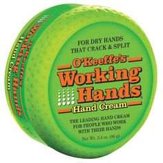 O'Keeffe's, Working Hands Hand Cream, 3.4 oz (96 g) New to iHerb? Use coupon code NWB338