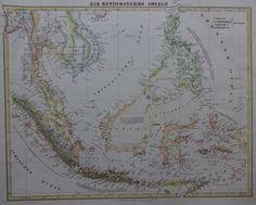 Azië, Zuidoost-Azië, Filipijnen; Carl Flemming - Die Ostindischen Inseln - 1850