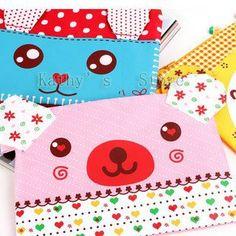 $20.32 per 10. Busy bag pouch ideas. Cute animals, cartoon animals, pencil case,pen bag,pen case(10pieces/lot).-in Pencil Bags from Office & School Supplies on Aliexpress.com