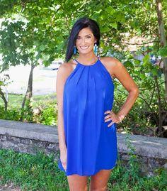 MORGAN ROYAL BLUE DRESS