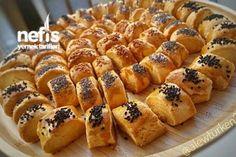 Kıyır Kıyır Sirkeli Pastane Kurabiyesi (82 Adet) Tarifi