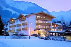 Hotel Vier Jahreszeiten: buitenkant-hotel-vier-jahreszeiten-kaprun-wintersport-oostenrijk-interlodge