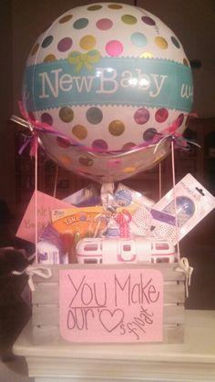Baby Hot Air Balloon Basket Diy Pinterest Air Balloon Showers