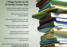 7 things faculty can