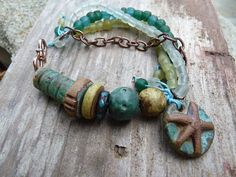 Buried Treasure bracelet with one of the Kylie Parry charms just added to the shop