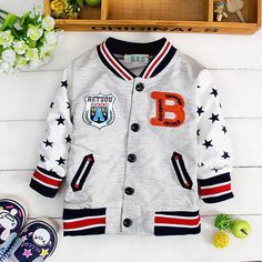 Find More Jackets & Coats Information about (6M 30M)Baby Single Breasted Baseball Uniform Jersey, Boys Sport Jacket, Brand Cotton Bomber Jackets, Kids Coat Toddler Clothing,High Quality clothing manager,China clothing shorts Suppliers, Cheap clothing marker from Witness the Growth of Children on Aliexpress.com
