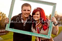 Couples Fall Family Session. ©LiveLaughLuv Photography www.livelaughluvphotography.com... Autumn, fall, leaves, dog, lab