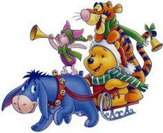 Pooh & Pals Merry Christmas everyone