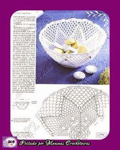 Receitas e Gráficos de Crochê Endurecido                                                                                                 ...