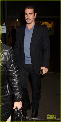 Colin Farrell at the 'Late Late Show' in Dublin 18/10/13