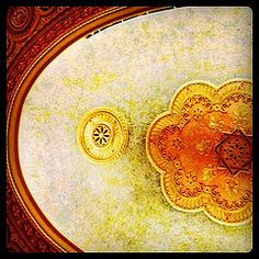 The ceiling in the Tennessee Theater - my favorite memory here is when Sundown in the City was moved here because of the rain. So much fun!