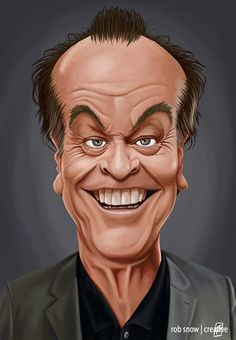 Celebrity Caricatures by Rob Snow