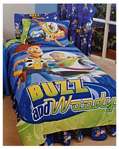 For Hudsy When He S In His New Bed Disney Toy Story Buzz Woody