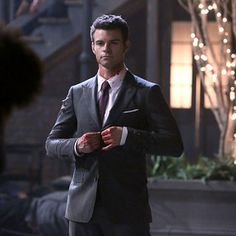 """You can't save Klaus [Joseph Morgan].""  Daniel Gillies (Elijah Mikaelson, The Originals) 
