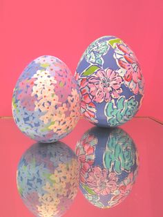 Lilly Pulitzer Easter Eggs