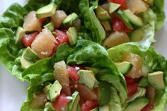 Anti-Fungal Diet by Barbara O'Neill (including grapefruit, tomatoes and avocado as expressed in this delicious salad) can be found here: http://kayesrecipesandremedies.com/wp-content/uploads/2011/03/Newsletter-Autumn-2007-30.pdf ((make some adaptations to the salad by using only the oils suggested in the anti-fungal diet, no vinegar, and no sweeteners-- get well soon and shine on!))