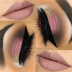 I normally don't care for pink eyeshadow but I LOVE the colors in this