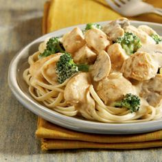 cream cheese chicken with broccoli - crock pot meal