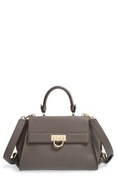 cbc8eb93da1b Salvatore Ferragamo  Sofia  Leather Satchel available at  Nordstrom Leather  Satchel