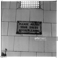 Photo d'actualité : 'Please Adjust Your Dress Before Leaving',...