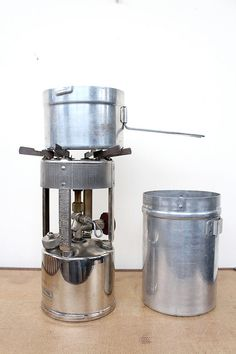 vintage 1940s camp stove // 1947 coleman no 530 pocket stove // by FoxAndSeagull