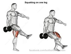 Squat una pierna cuadriceps