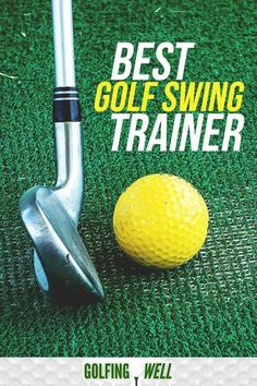 Golf Tips Swing Want to hit the ball longer? A golf swing trainer is a great way to improve your golf swing and play better golf. Check out our picks for the best golf swing trainers you can buy right now. Golf Score, Golf Instruction, Golf Exercises, Stretches, Golf Putting, Golf Tips For Beginners, Perfect Golf, Golf Training