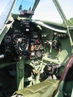 Spitfire MH434 cockpit | Flickr - Photo Sharing!