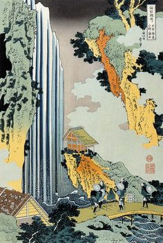 HOKUSAI, Ono Waterfall