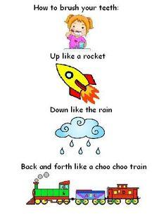 Great song to teach kids how to brush their teeth! @Aimee