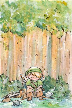 Legend of Zelda fanart - Rest a little by myreitha on deviantArt