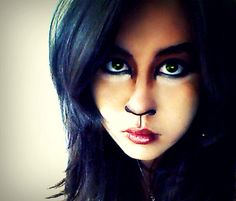 Hyena makeup- i like the eyes