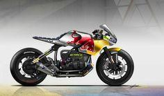 Bmw Cafe Racer, Estilo Cafe Racer, Cafe Racers, Moto Cafe, Bmw Boxer, Bobber Custom, Custom Cafe Racer, Custom Bikes, Motorcycle Design