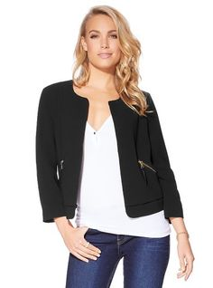 Cropped Casey Jacket