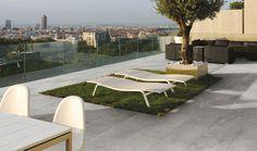 Wall/floor tiles TRACKS GREY Outdoor by CERAMICA FONDOVALLE